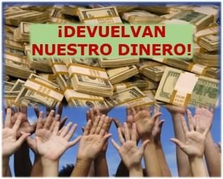 Los panameños estamos decepcionados, devuelvan nuestro dinero.