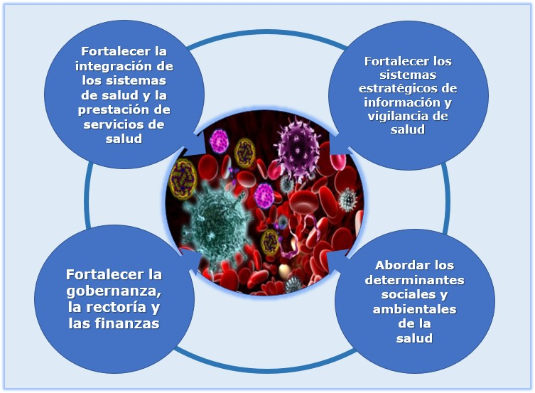 Eliminación de las enfermedades transmisibles: un enfoque integrado