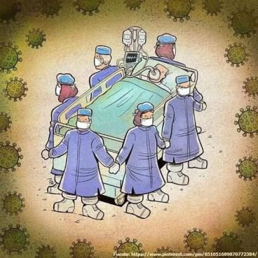 Médicos panameños frente al COVID-19