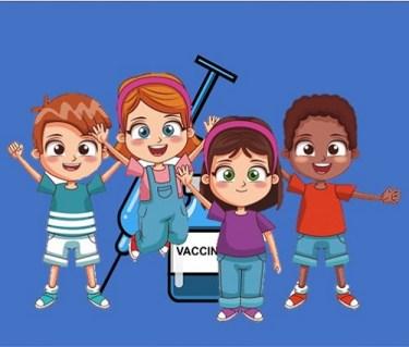 Vacunación de los niños contra el COVID-19