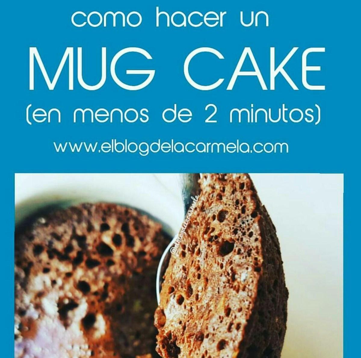 Mug cake de quinoa y plátano