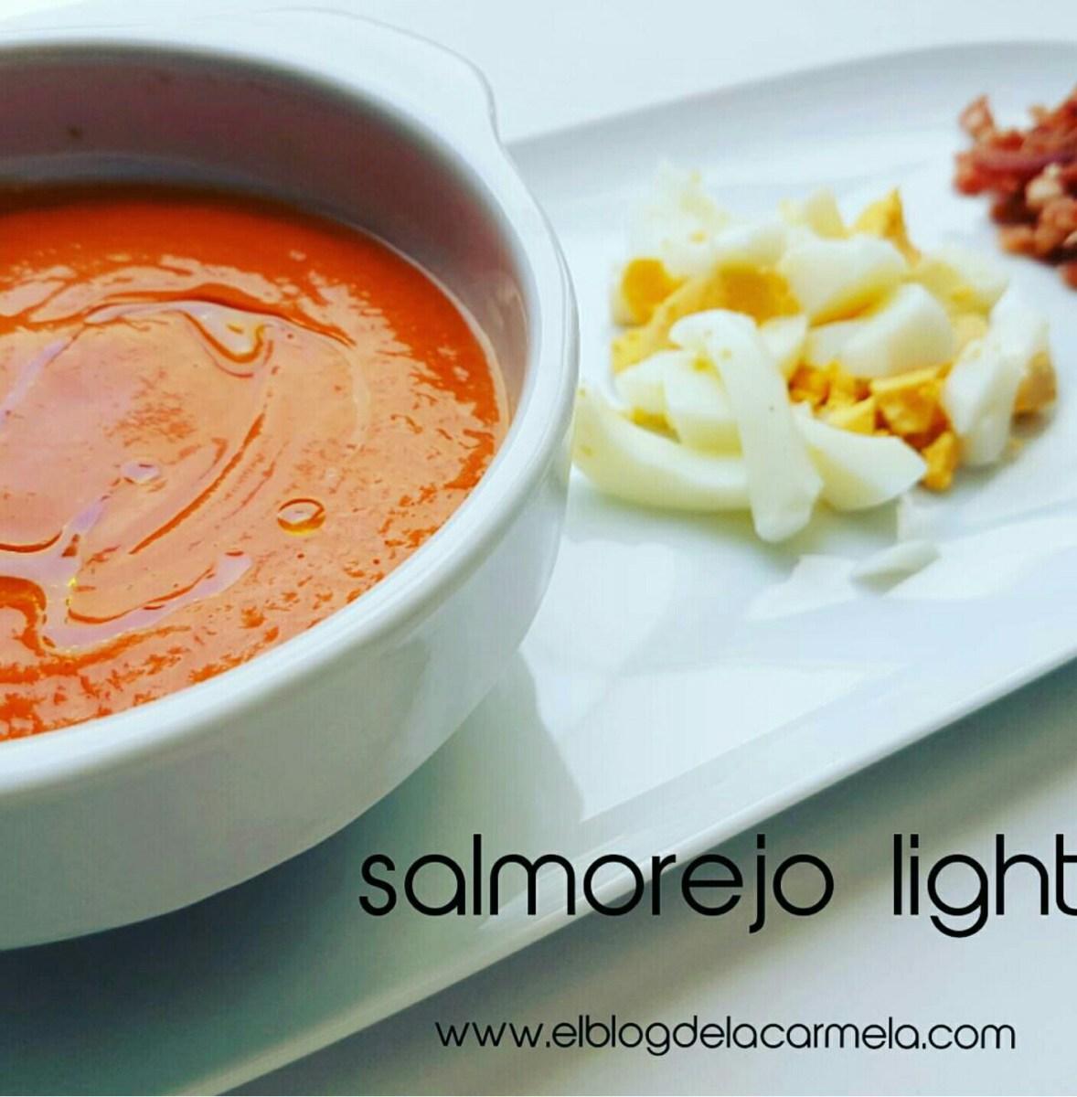 Salmorejo light!!😂