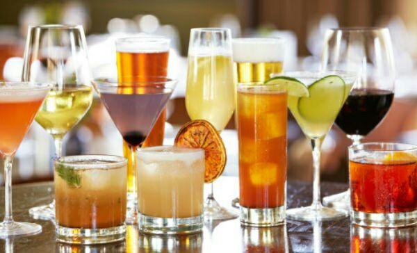 calorías de las bebidas alcoholicas