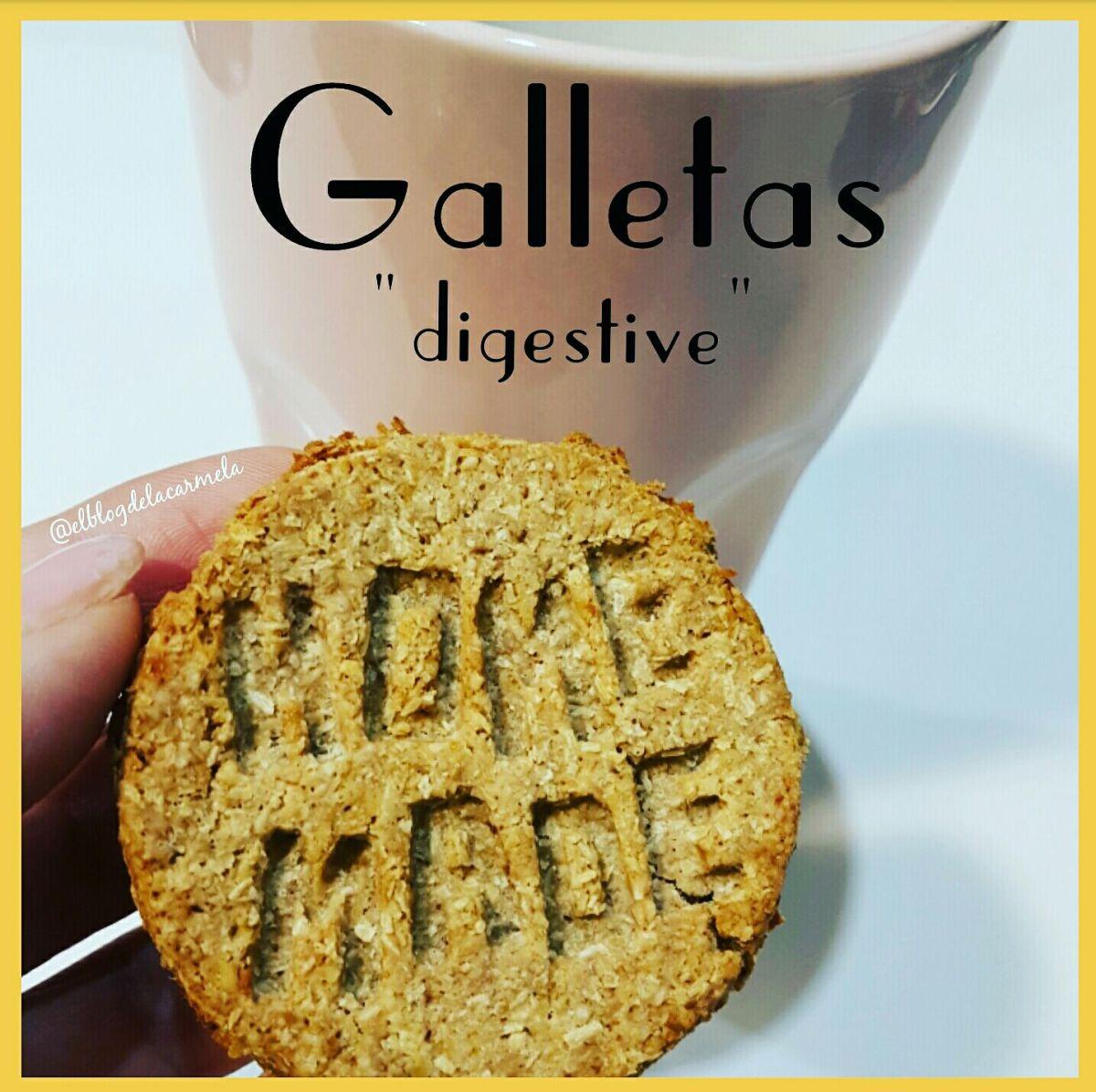 Galletas tipo digestive (galletas integrales, veganas y sin azúcar)