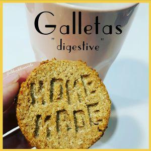 galletas tipo digestive integrales y veganas