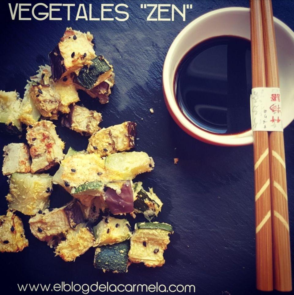 vegetales zen (horneados con coco y servidos con salsa tamari)