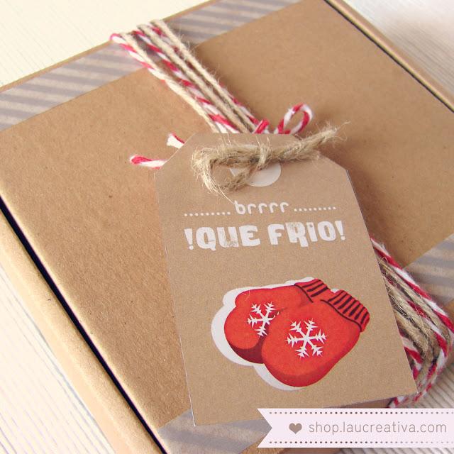 LA CHACHITIENDA | Envuelve tus regalos de Navidad con nuestras etiquetas
