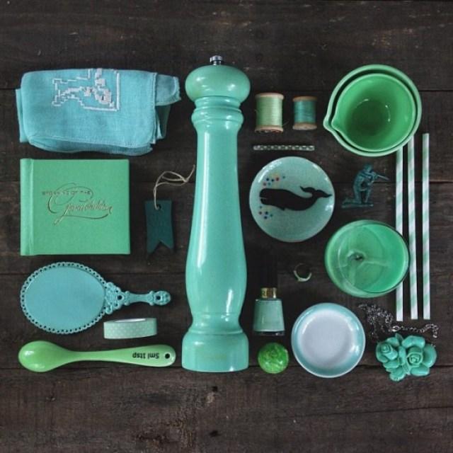 INSTAGRAM | #colorsorganizedneatly