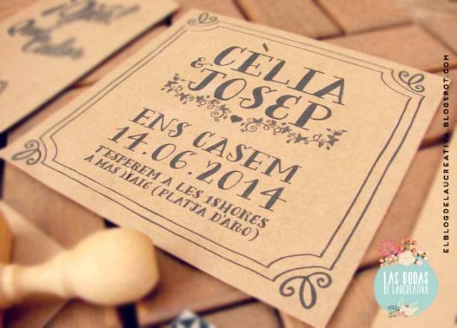 BODAS | Invitaciones de boda