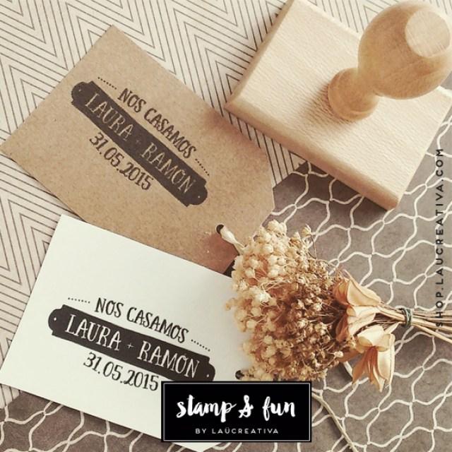 Sellos personalizados para tu boda
