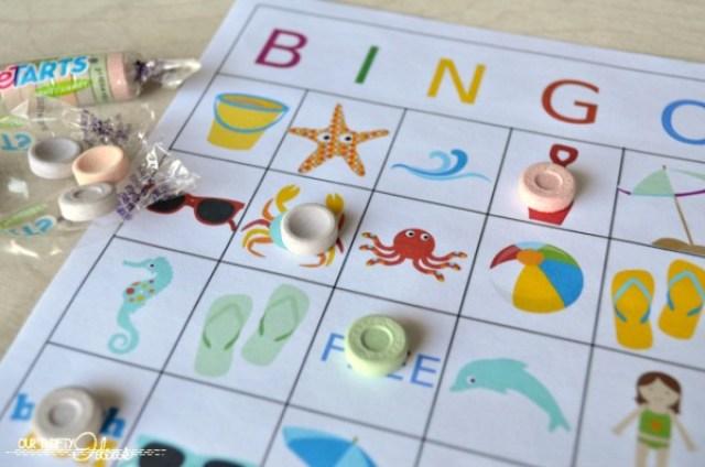 IMPRIMIBLE VERANIEGO | Lista para organizar las vacaciones y un bingo