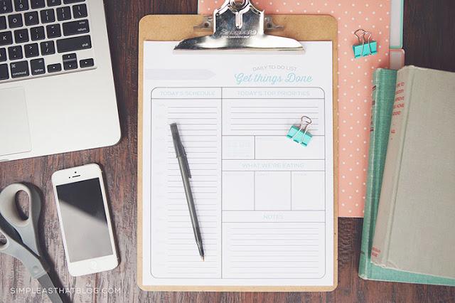 IMPRIMIBLE | Una lista para organizarte y otra para hacer la compra