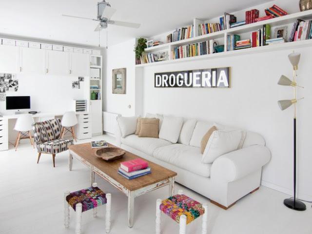 DECO | Un pisazo barcelonés con unos originales suelos