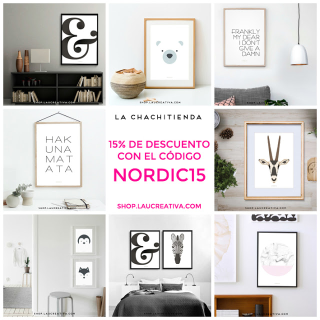 LA CHACHITIENDA | Descuentazo en nuestras láminas nórdicas