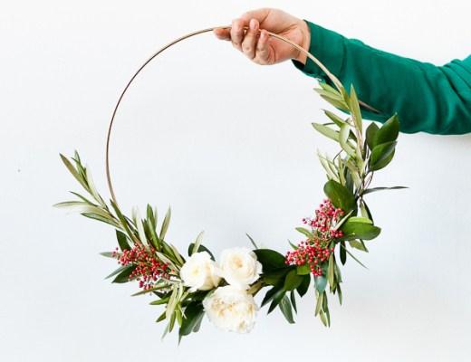 DIY | 8 preciosas coronas navideñas y cómo hacerlas paso a paso