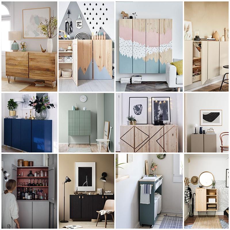 17 diy y manualidades con mueble Ivar de Ikea - El blog de Laucreativa