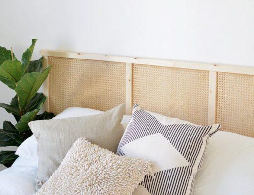 IKEA HACK   Un cabecero con cannage y un panel IVAR - El blog de Laucreativa