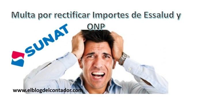 Multas por Essalud y ONP