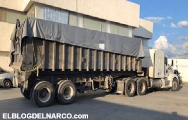 Aseguran casi 1.5 mdp, 50 fusiles y cartuchos útiles en Nuevo León.