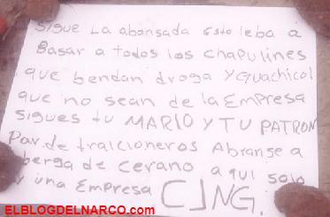CJNG deja descuartizado junto a amenaza frente a una iglesia en Guanajuato.