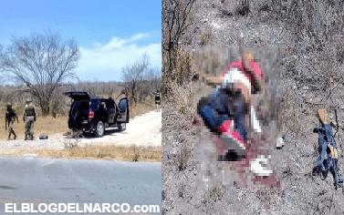 Durante enfrentamiento es abatido el jefe de estacas del Cártel del Noroeste en Parás, Nuevo León