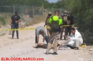 Ejecutan a mujer en Reynosa, su cuerpo fue encontrado en el fraccionamiento Las Palmas.