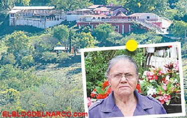 Fotos de la mansión que El Chapo dejó a su madre Consuelo Loera te dejará pasmado...