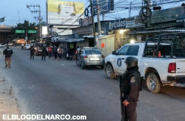Sicarios balea una veintena de comercios en Acapulco, reportan al menos 3 heridos