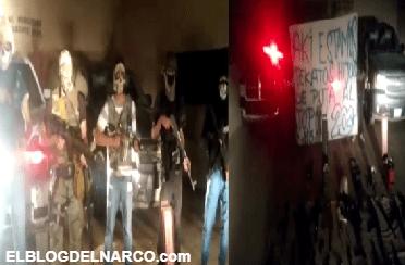 Vídeos donde sicarios de la AA retan al topon a los Mexicles, presumen armas de alto poder en Ciudad Juárez