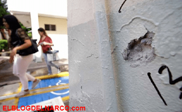 Atacan a comandante de policía en Universidad de Sinaloa