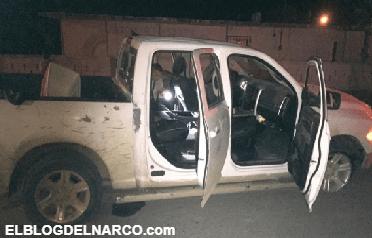 Balacera en Tamaulias, CDG venía por CDN y termina enfrentandose al ejercito 4 muertos