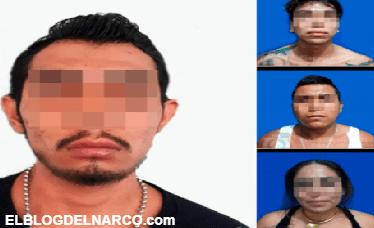 Capturan a 4 integrantes del Cártel de Jalisco Nueva Generación (CJNG) en Morelos