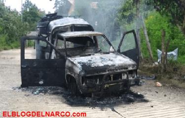 Comando armado siembra terror en Guerrero, calcinan a 2 personas