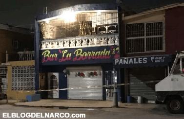 Ejecutan a 3 hombre en bar de Monterrey