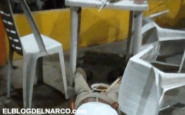 Ejecutan a policía federal al interior de una taquería en Tuxtepec