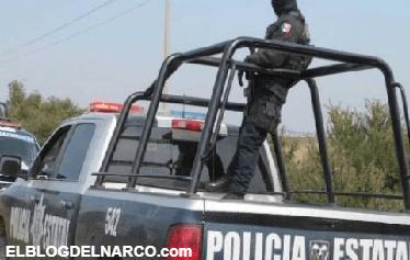Emboscan a Policias Estatales abaten a un elementos y 2 mas resultan heridos