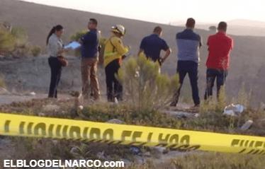 Encuentran cuerpo encobijado en fraccionamiento Palma Real
