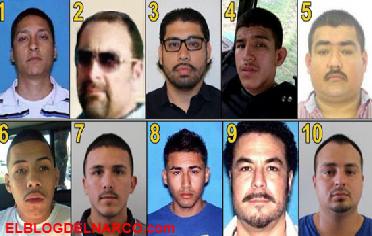 Estos son los 10 narcos que son objetivos prioritarios en Tamaulipas