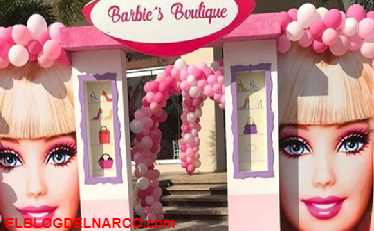 """Las imágenes del impactante cumpleaños Barbie de las hijas mellizas de """"El Chapo"""" Guzmán en Sinaloa"""