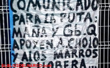 Les lloverá plomo perros, Sicarios del CJNG amenazan a los que apoyen Al Cholo y Marros en Jalisco.
