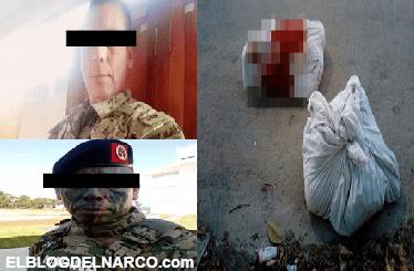 Marinos regresaban del desfile y fueron levantados, torturados y descuartizados en Cancún, estaban en su día libre