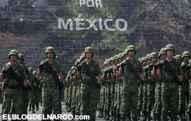 Mexicanos confían poco en el Ejército, pero quieren que combata al narco
