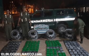 Operación Críquet, 231 kilos de cocaína escondidos en las ruedas de un camión pertenecen al CDG.