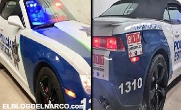 Policías patrullarán con autos de lujo decomisadas al crimen organizado en Reynosa
