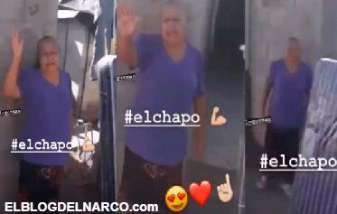 Abuelita beneficiaria de ayuda de El Chapo le manda bendiciones al capo (FOTO)