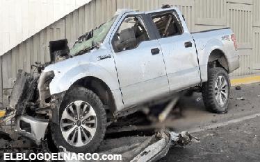 Balacera y persecución en Reynosa; sicarios terminan chocando con saldo de 5 muertos. (FOTOS)