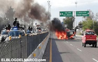 Diez integrantes del CJNG abatidos y bloqueos fue el resultado el fin de semana por enfrentamientos en Guanajuato
