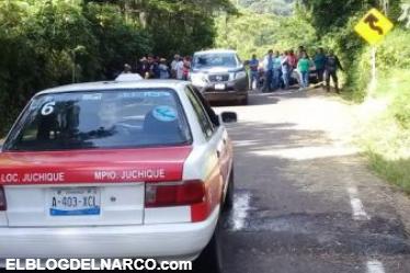 """Ejecutan """"Al Chino"""" Taxista del municipio de Juchique de Ferrer."""