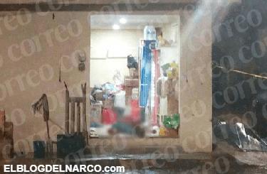 Ejecutan a 'El Babas' en una tienda de abarrotes