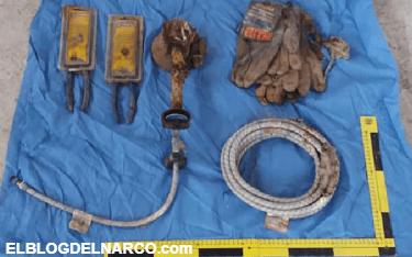 Estremecedor hallazgo, en un predio de Tijuana encontraron las herramientas con las que El Pozolero disolvía a sus víctimas